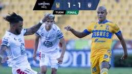 ¡Pachuca rescata el empate! Igualan 1-1 con Tigres en el 'Volcán'
