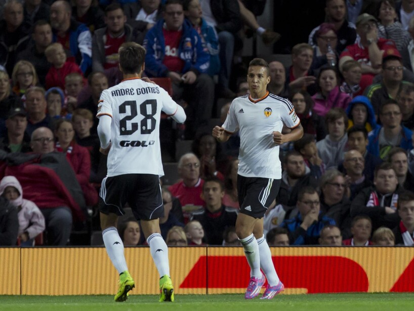Britain Soccer Manchester United Valencia Friendly