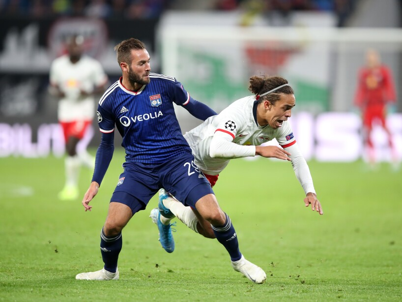 RB Leipzig v Olympique Lyon: Group G - UEFA Champions League
