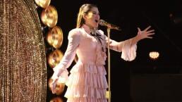 Leslie defiende su lugar en la final cantando 'No tengo nada'