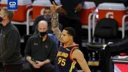 Buen juego de Juan Toscano en Celtics vs. Warriors