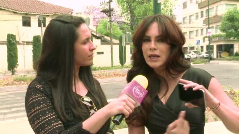 ENTREVISTA: ¡Rossana San Juan es una madre con doble moral!