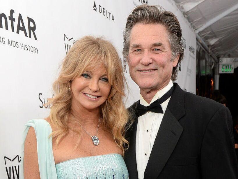 9. Goldie Hawn y Kurt Russell: La pareja de actores han estado juntos por 30 años y no quieren casarse.