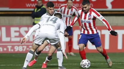 Cultural Leonesa 2-1 Atlético de Madrid | Correa (62') anotó para los de Simeone, Castañeda (83') empató el encuentro y en tiempos extra Benito (108') marcó el gol que dejó fuera al Atlético de Madrid. Héctor Herrera salió para el segundo tiempo.
