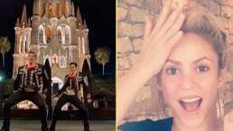 """""""¡Pensé que lo había visto todo!"""": Shakira comparte divertido video de mariachis haciendo el Champeta Challenge"""
