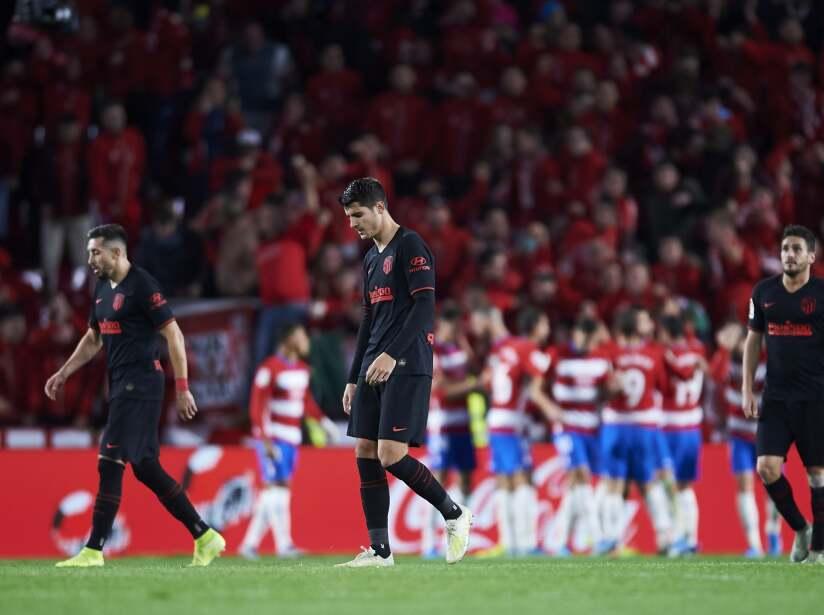 A los del 'Cholo' se les complica salir del Wanda; Héctor Herrera jugó todo el encuentro y lo nombraron 'King of the Match'. Lodi (60') marcó para los colchoneros y Sánchez Barahona (67') anotó el empate.