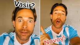 Sebastián Rulli recrea video viral 'Vasir o no vasir' versión remix