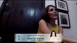 Muere Karla Luna