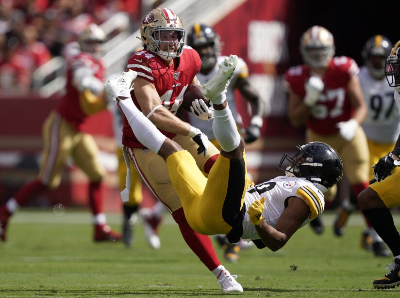 APTOPIX Steelers 49ers Football