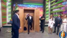 Arath de la Torre se integra al programa 'Hoy' y así le dieron la bienvenida en el matutino