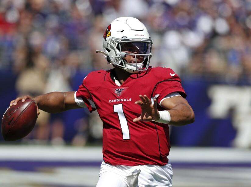 Arizona Cardinals vBaltimore Ravens