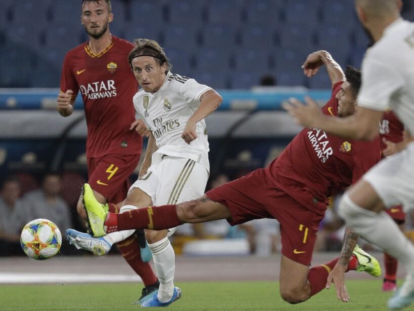 Roma vs Real Madrid, amistoso.