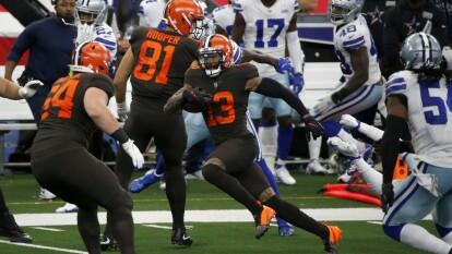 Miami cae en casa 23-31 frente a los Seattle Seahawks, Los Browns se imponen de visita 49-38 a los Dallas Cowboys y las Philadelphia Eagles consiguen su primer victoria de la campaña 25-20 sbre los 49'ers.