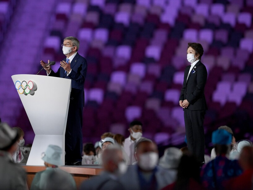 Ceremonia de Inauguración Tokyo 2020