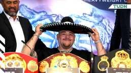 Andy Ruiz Jr. borra tuit sobre su participación en los Olímpicos
