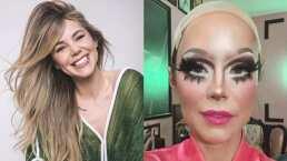 Camila Sodi sorprendió en redes al aparecer vestida y maquillada como drag