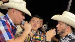 Así suena el dueto entre 'El Flaco' y Grupo Firme, interpretando 'Ando Bien Pedo'