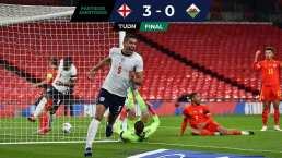 ¡Goleada! Inglaterra gana el clásico británico ante Gales