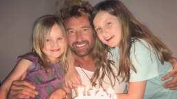 Gabriel Soto demostró la excelente relación que tiene con sus hijas Elisa Marie y Alexa Miranda
