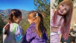 Kailani quiso presumirle su 'cabello de sirena' a Aitana y terminan jugando a las princesas