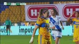¡Al palo! Katty Martínez falla el penalti ante Brissa Rangel