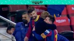 ¡Messi sonríe tras el pase a la Final de Copa del Rey!