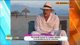 ¡Entérate! cuál es el estado de salud de Andrés García
