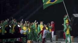 Brasil, la potencia de Sudamérica, desfila en la inauguración