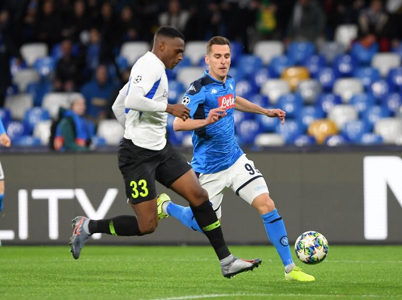 SSC Napoli v KRC Genk: Group E - UEFA Champions League