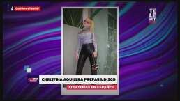 Christina Aguilera prepara disco con canciones en español