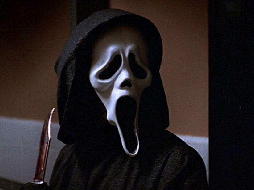 10. Ghostface: ¿Cuál es tu película de terror favorita? El villano de Scream es experto en movies de miedo.
