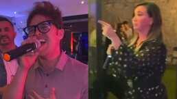 """Mariazel y Yurem sorprenden al cantar """"Mis ojos lloran por ti"""" en su noche de karaoke"""