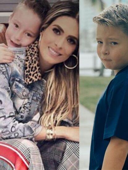 Mateo, hijo de Galilea Montijo, celebra este 23 de marzo su cumpleaños número 8, hecho por el que la conductora mostró en redes sociales cómo ha cambiado su primogénito con los años.