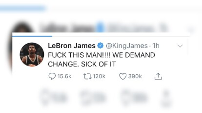 Surge otro caso de racismo por parte de la policía en los Estados Unidos y los jugadores de la NBA no se quedan callados y reaccionan en redes sociales.