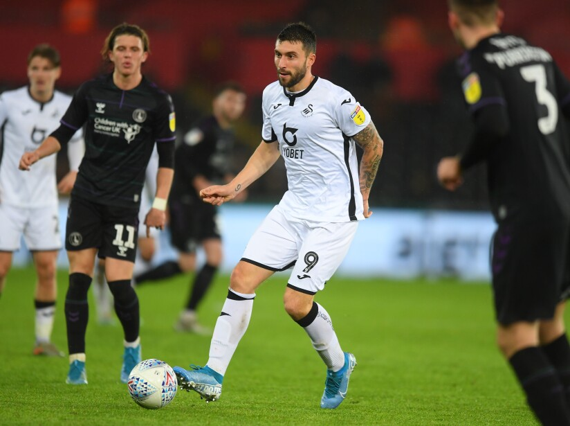 Swansea City v Charlton Athletic - Sky Bet Championship