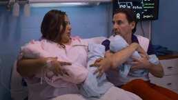 El parto de Karla: Así dio a luz a sus trillizos