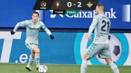 Andrés Guardado jugó 82 minutos en triunfo del Betis