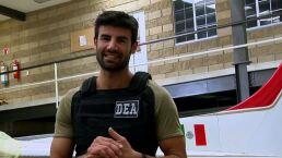Juan Eduardo Colucho se convierte en agente de la DEA