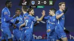 Arteaga y el Genk ganan y mantienen ritmo en Bélgica