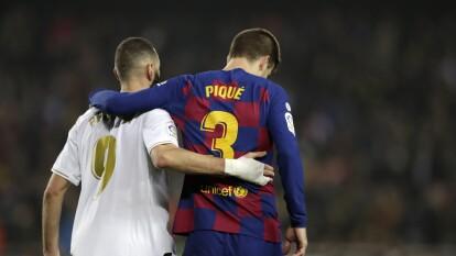 Apenas juntando poco más de dos de los ocho clubes que se ubican entre la tercera y la octava posición, alcanzarían la cifra que poseen Merengues y Blaugranas.