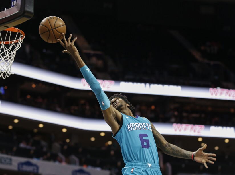 Knicks Hornets Basketball