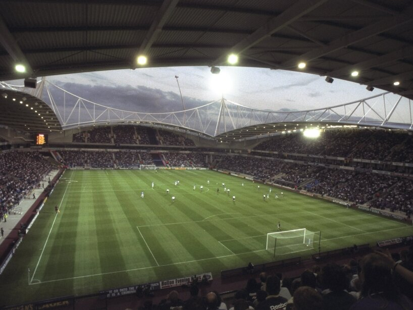 A general view of the Reebok Stadium