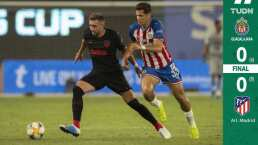 Chivas vuelve a caer, esta vez, en penales ante Atlético de Madrid