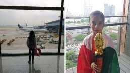 Mexicana de 8 años conquista a China y se lleva el 1er lugar en cálculo