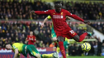 Luego del resultado 1-0 en el Carrow Road, los de Klopp mantienen el invicto en la Premier League.   Fue el encuentro de liga en el que Liverpool se ha tardado más en marcar gol.