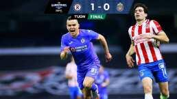 ¡Imparable! Cruz Azul supera 1-0 a Chivas y llega a los 12 triunfos