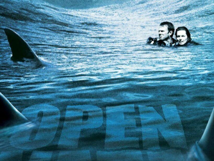Open Water nos presenta a una pareja de buzos que quedan a la deriva, ¡de las más aterradoras!
