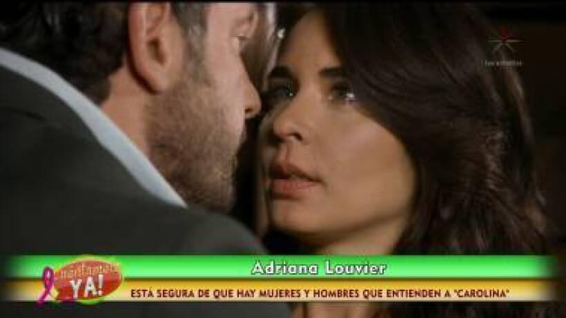 ENTREVISTA: Adriana Louvier explica por qué es infiel en Caer en tentación