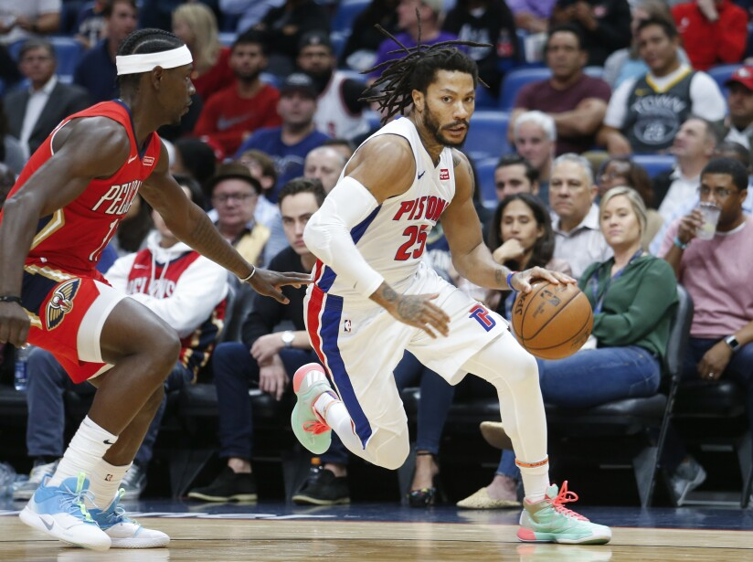 Pistons Pelicans Basketball