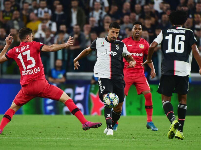 Juventus v Bayer Leverkusen: Group D - UEFA Champions League